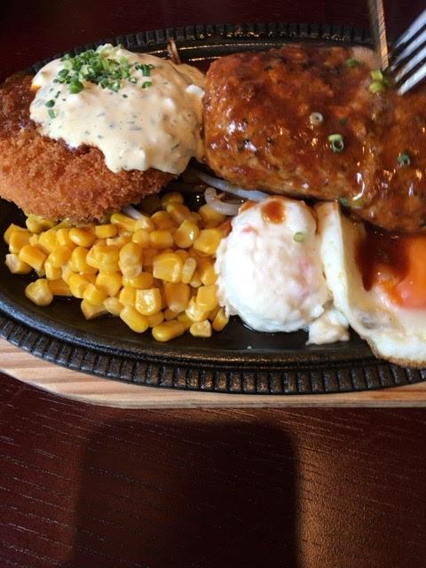 肉汁注意報!鉄板焼き「ぶん」でランチ。焼津市