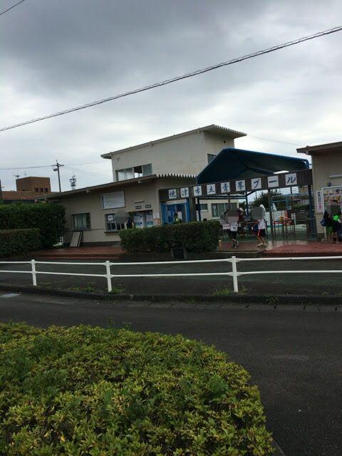 青峰プールに行ってきた。静岡県焼津市屋外プール