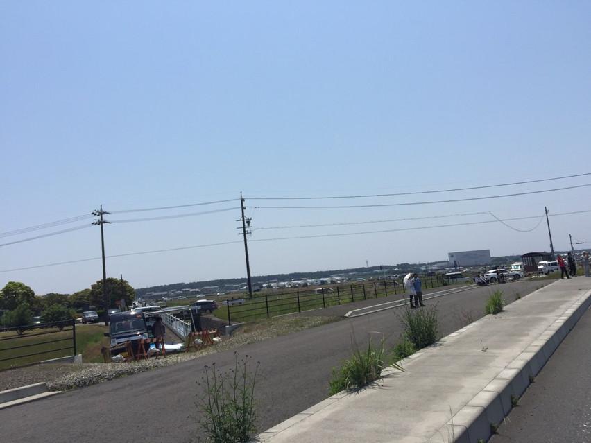 航空祭の静浜基地。焼津市の自衛隊敷地内に潜入