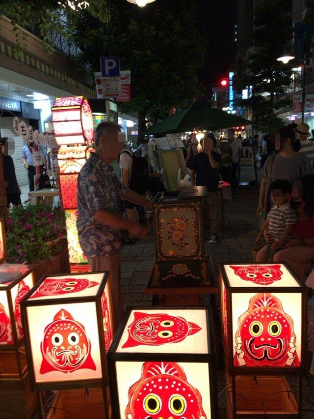 静岡夏祭り夜店市に子供と楽しんで来た