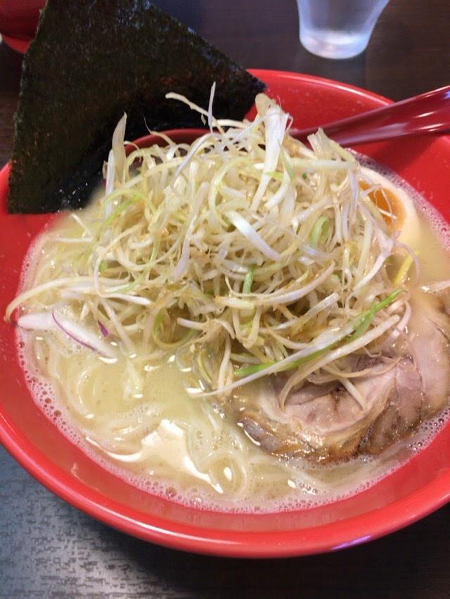 焼津の横浜家系ラーメン「喜助家」に家族で行った