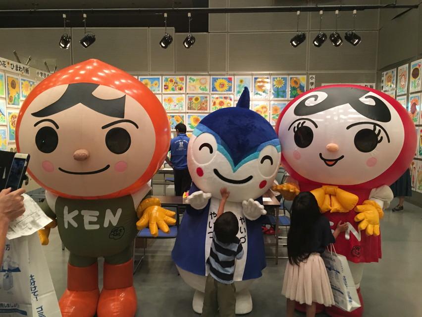 焼津市消費生活展のやいちゃんの部屋に来たら思いのほか良いイベントでした
