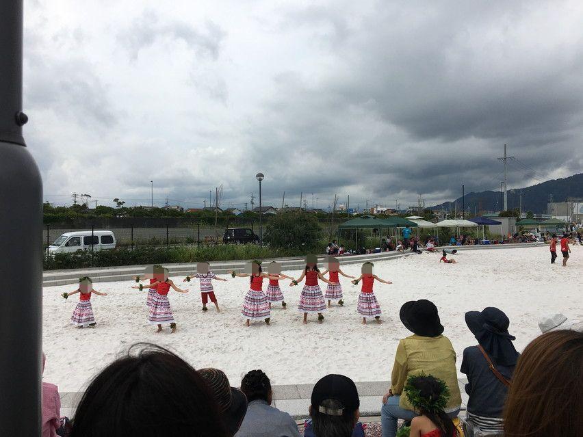 白い砂場・超巨大な砂場が焼津市にあった!ビーチフェス