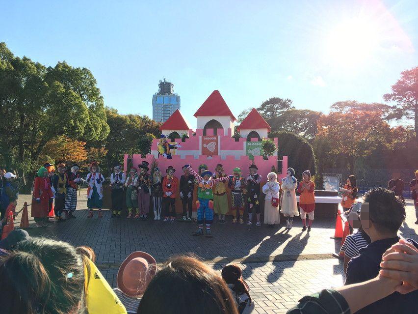 大道芸ワールドカップin静岡のキッズガーデンが市民文化会館に