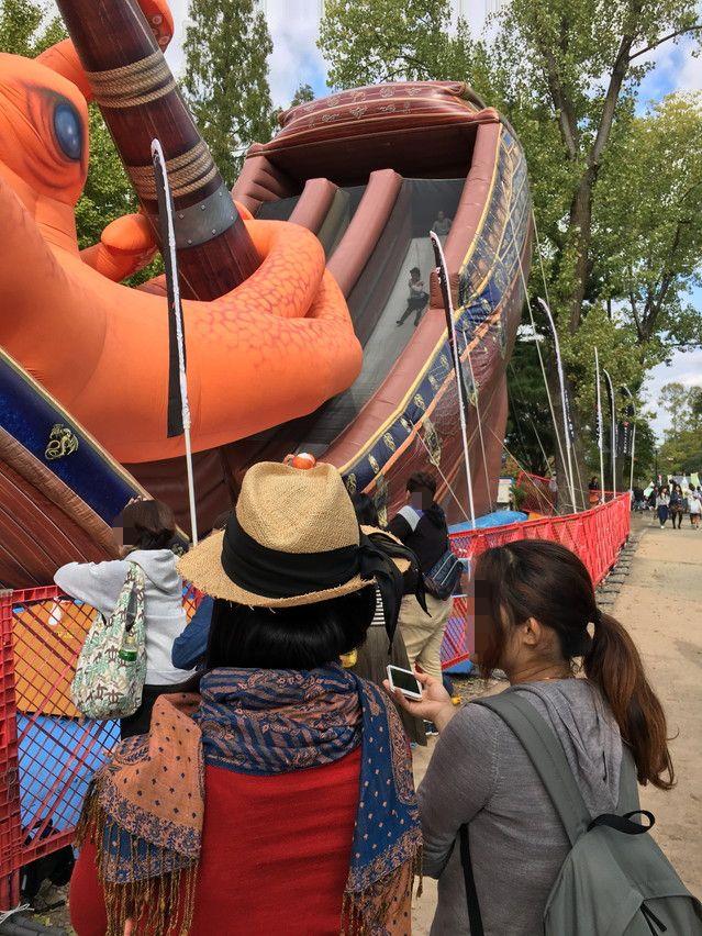 静岡大道芸で子供と遊ぶ駿府城公園アトラクション