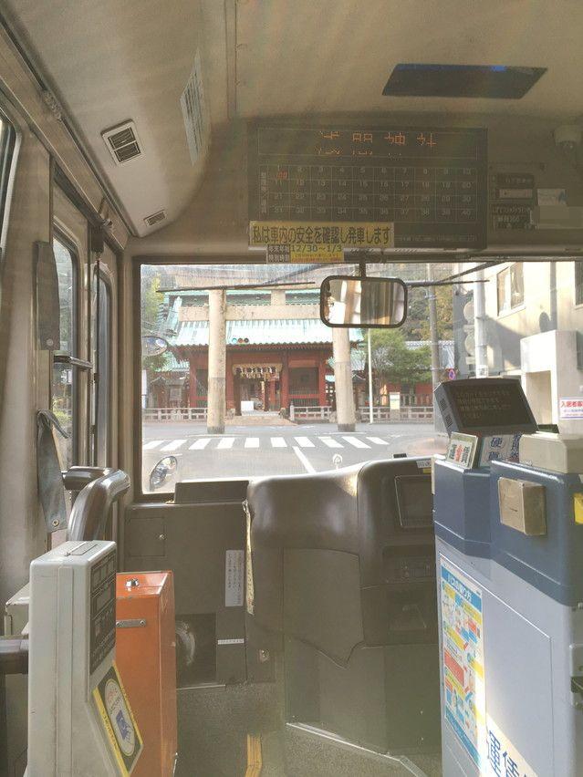 子供がバスに乗る練習に丁度良い。浪漫バス、静鉄ジャストライン