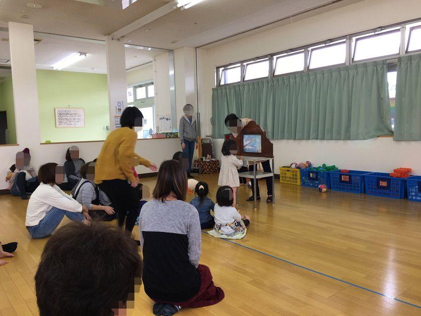 焼津アトレで平日午前にリズム体操、紙芝居、絵本、ゲーム