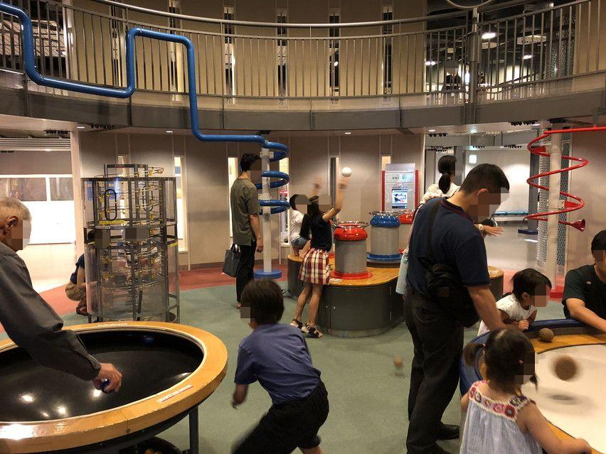 子供とお出かけ静岡市の科学館るくる。まっくら迷路