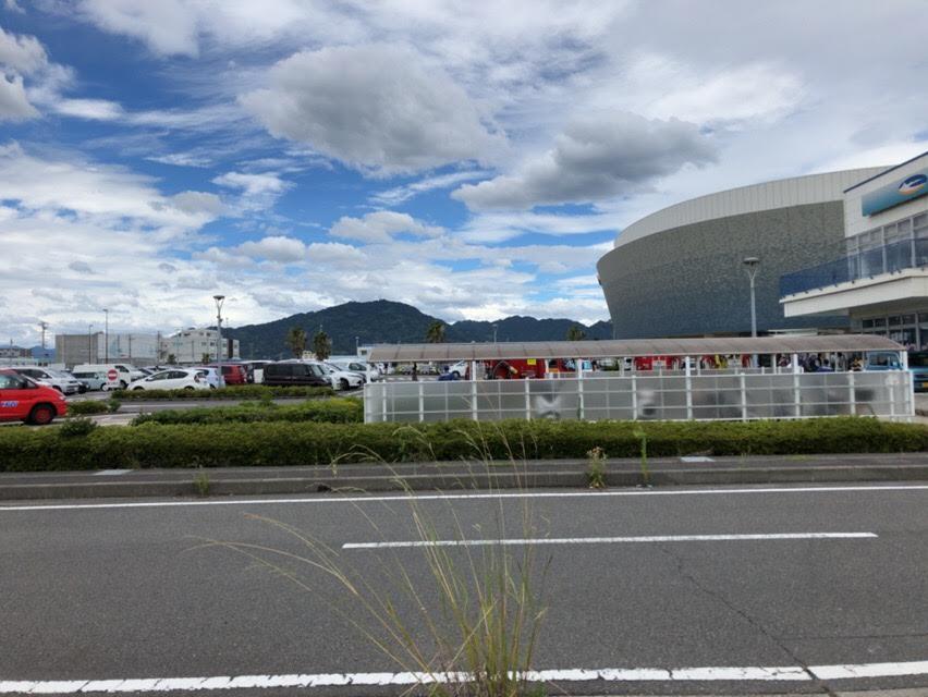 うみえーる焼津の夏祭り&朝市。台風でスケジュール変更