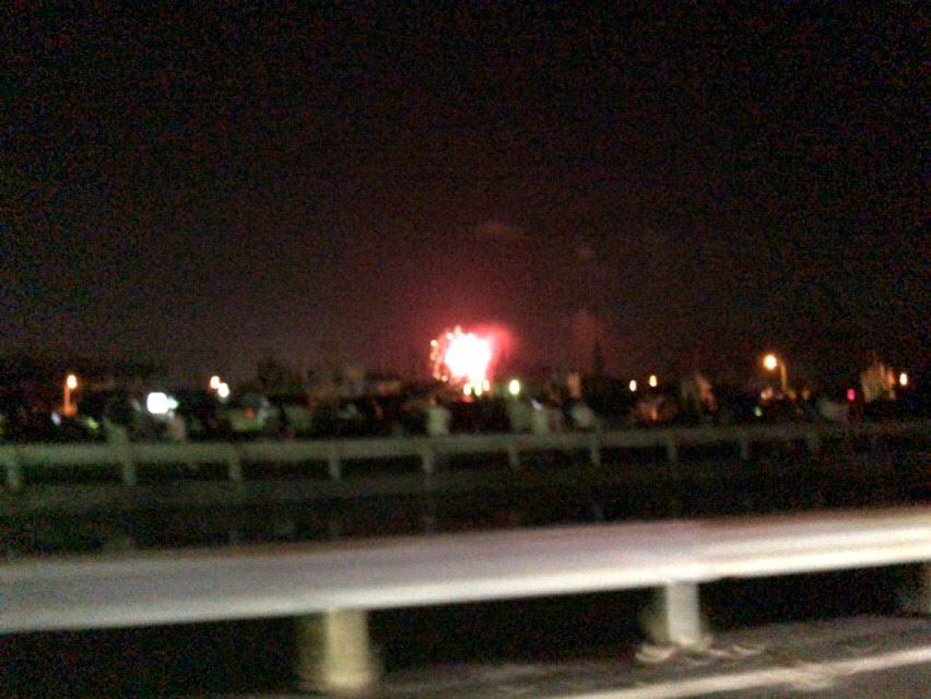 焼津花火大会に穴場(小川港・石津浜公園)に車で行ったら車地獄でした