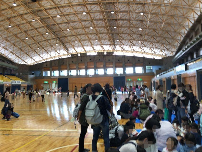 焼津市幼稚園チャイルドチャレンジ大会。シーガルドーム