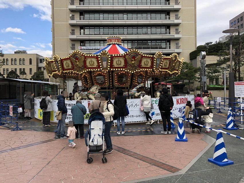 静岡市の街中にサンタクロースがいっぱい!クリスマスイベント