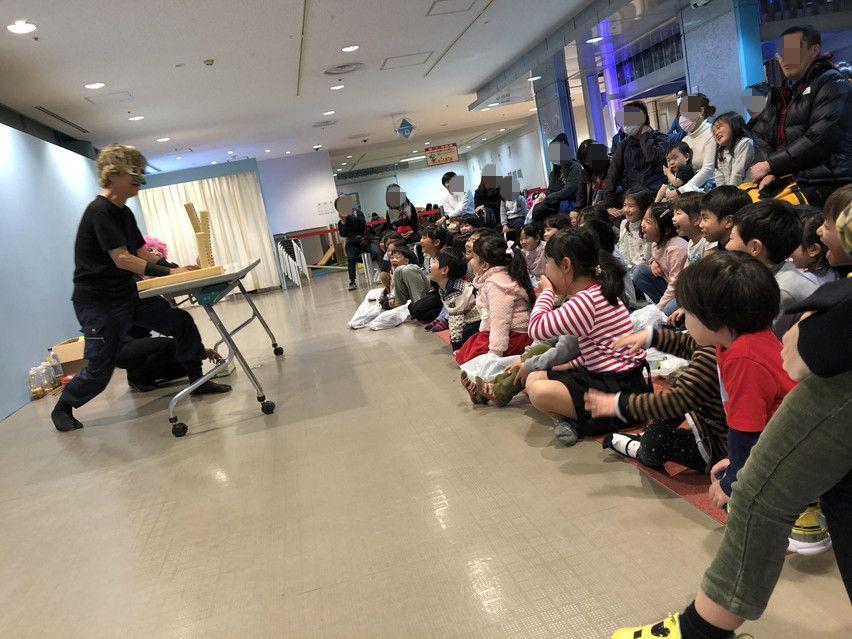 ナダレンジャーの自然災害科学実験ショーに子供が大爆笑。るくる