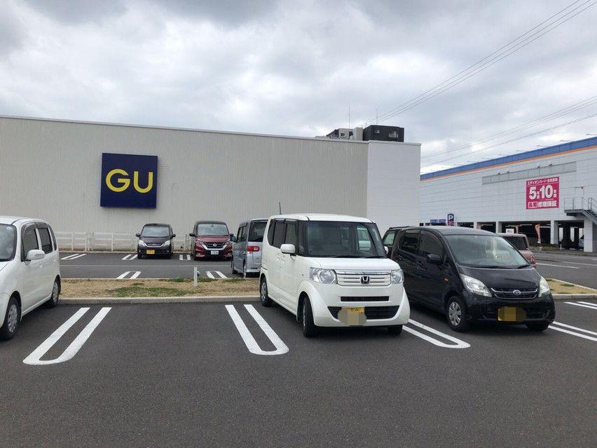 焼津市GU(ジーユー)