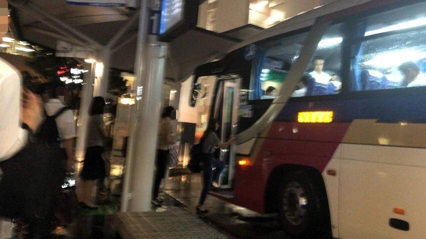 JR電車が動かない!静岡駅から西焼津まで高速バスで帰る