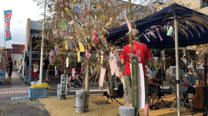 焼津市の七夕祭り。家族で楽しめる夕涼み夏祭り