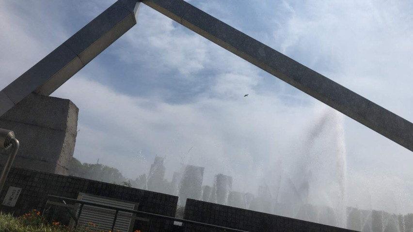 焼津にも噴水が欲しい。名古屋の白川公園を見て思いました
