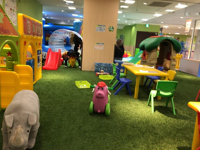 静岡マルイの大迷路あり室内キッズパーク「Kid's US.LAND」に遊びに行ってみました