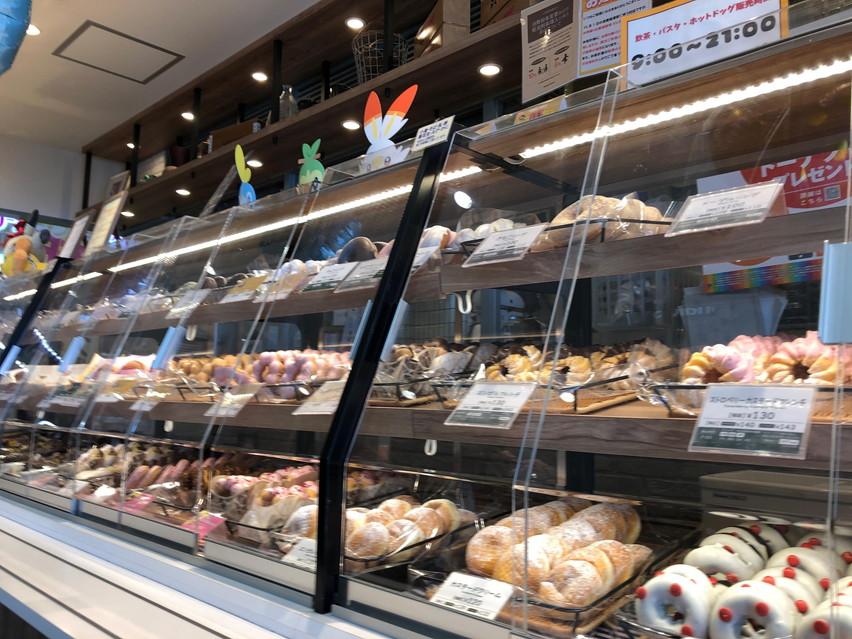焼津イオンのミスタードーナツはクレジットカード使用不可