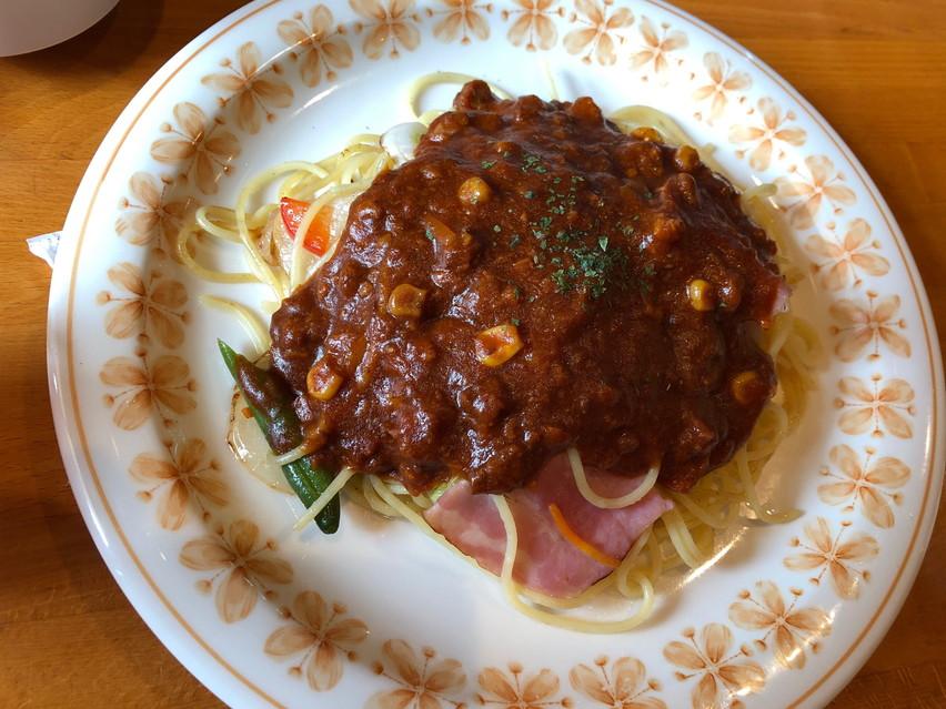 ハンバーグとミートソースが美味しいレストランてんとう虫で子供連れランチ 焼津で人気で有名
