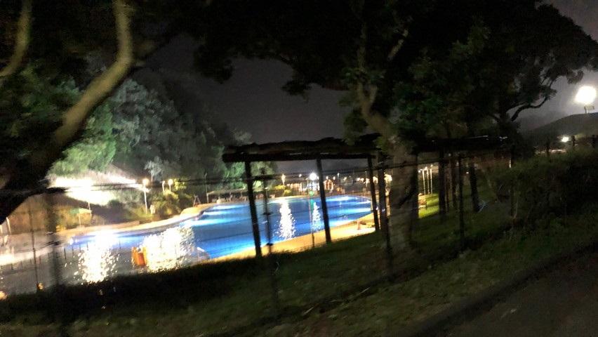 静岡にもあるナイトプールに遊びに行ってきました。掛川市つま恋