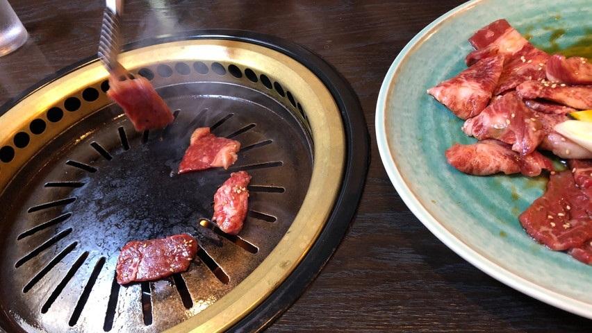 焼津の焼肉幸楽でランチ。ランチメニューは定食やラーメンや餃子もありました。