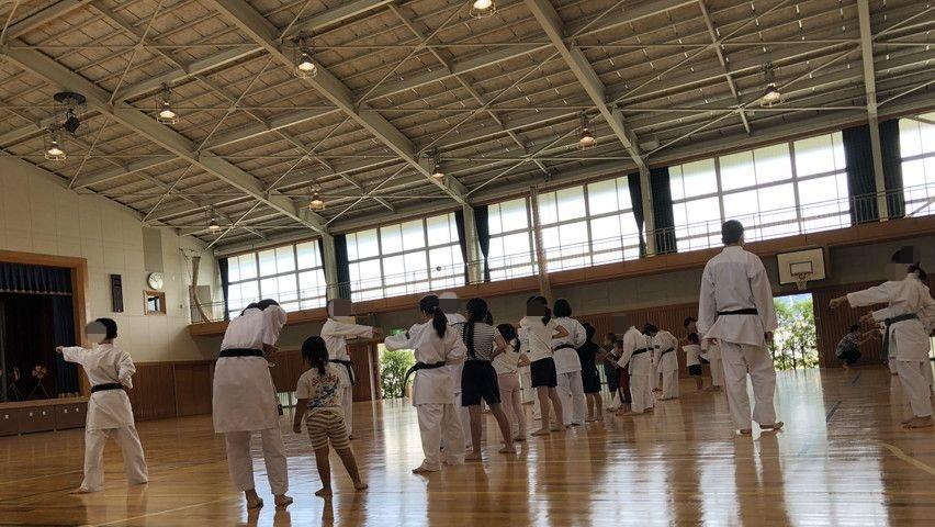 焼津で幼稚園児の子供の習い事体験に参加