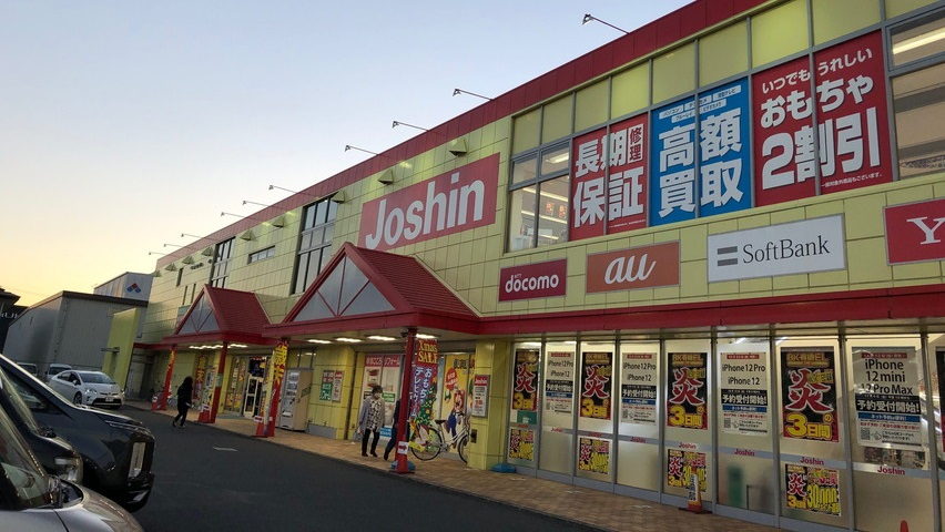 クリスマスに焼津市のおもちゃ屋さんジョーシンが人気