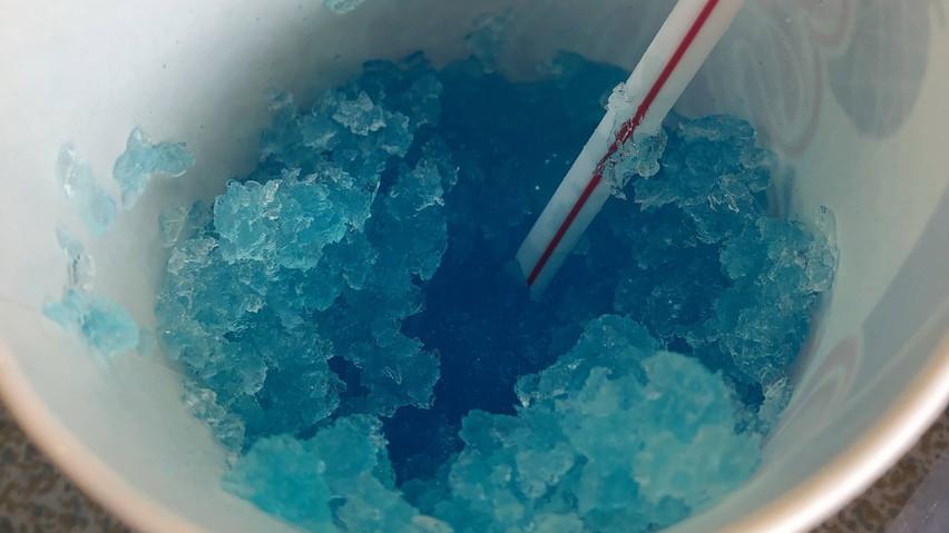 4月はかき氷を食べるのにまだ時期が早い、注意