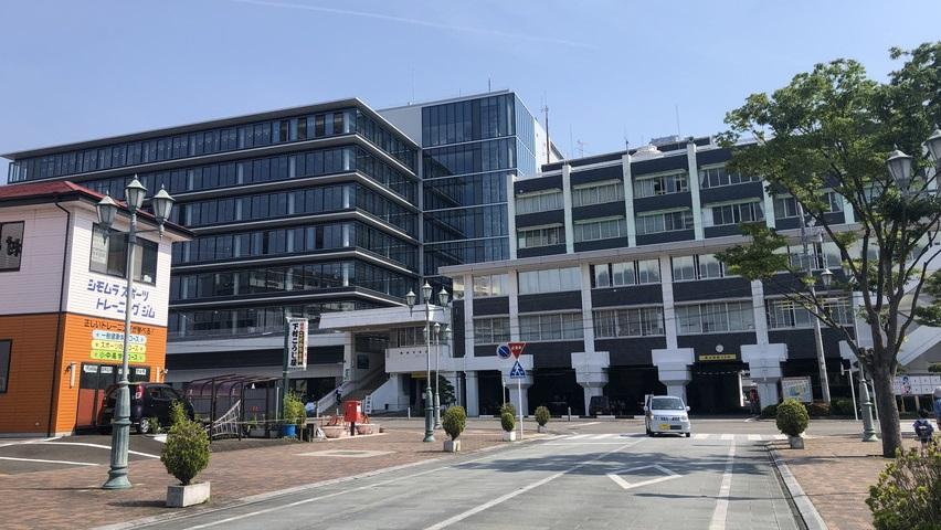 焼津市役所の新庁舎